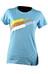La Sportiva W's Stripe Logo T-Shirt Malibu Blue